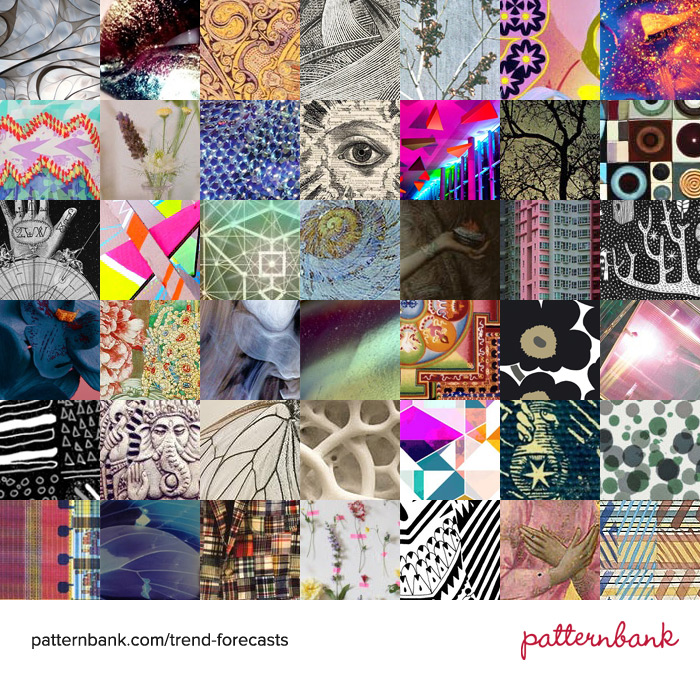 TRENDS // PATTERNBANK - AUTUMN/WINTER 2014-15