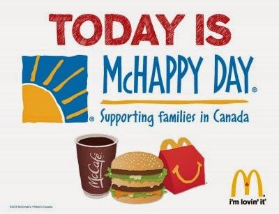 McDonalds McHappy Day May 6