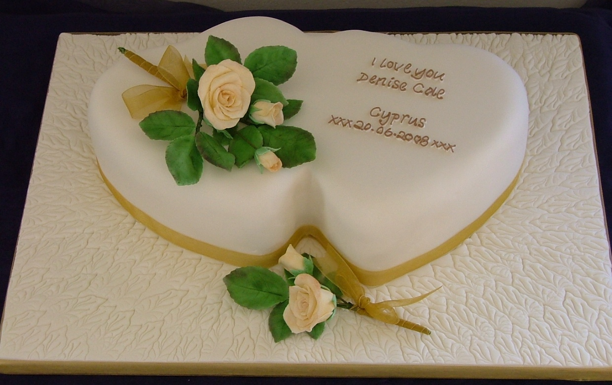 Simple One Tier Wedding Cake Designs Wedding Cake Designs