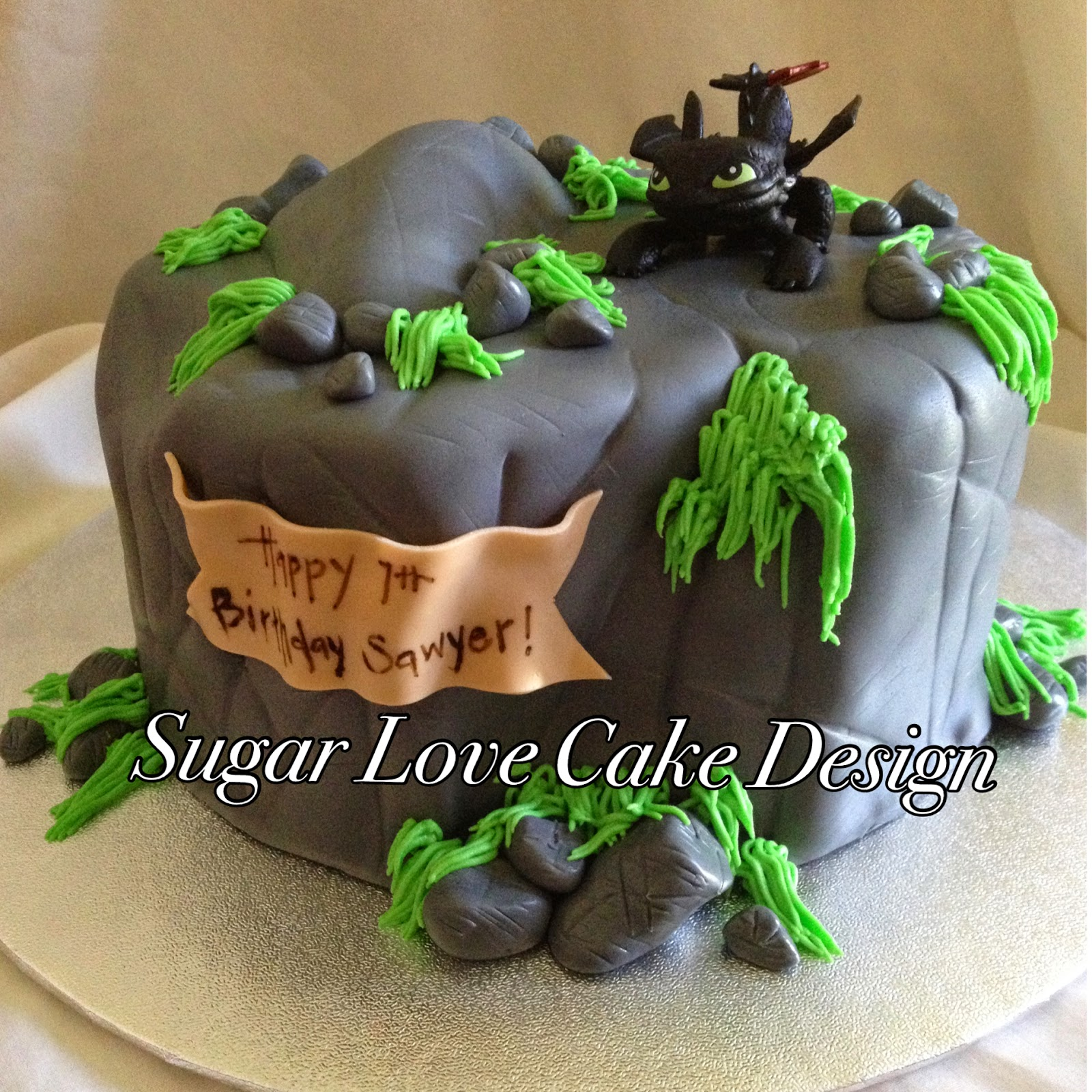 Sugar love cake design birthday cakes how to train your dragon ccuart Choice Image