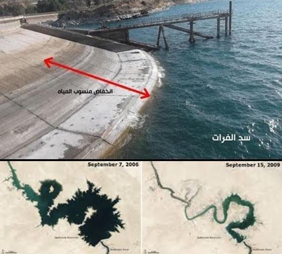 Mengeringnya Sungai Eufrat