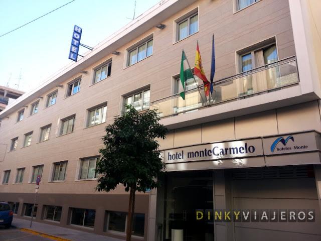 Hotel Monte Carmelo. Exterior