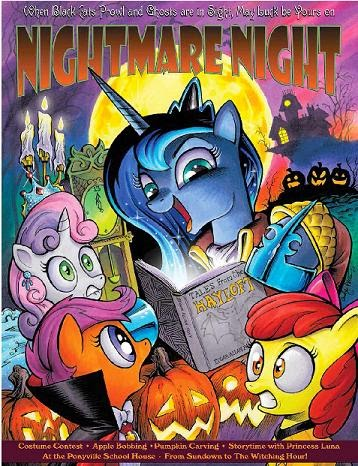 My Little Pony- Frienship is Magic: Spooktacular Pony Tales poster
