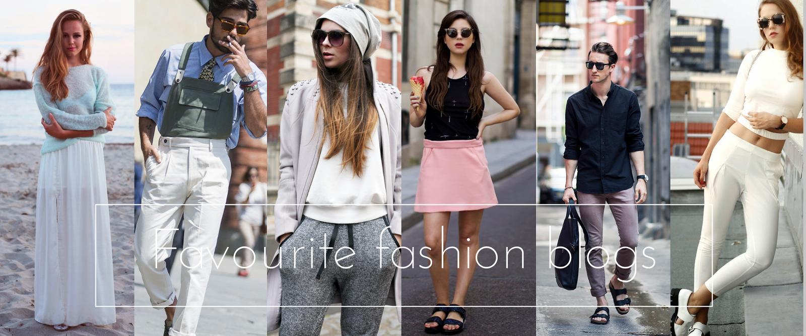 Die Top 6 meiner liebsten Fashionblogs