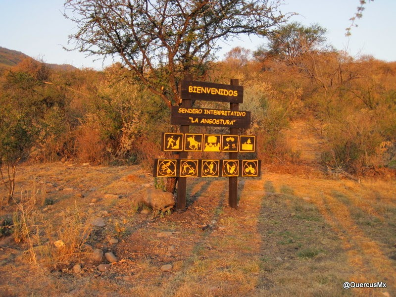 Bienvenida al Sendero Interpretativo La Angostura La Cañada - Ixtlahuacán de los Membrillos