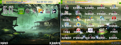 FREE Download Themes Nokia Symbian E63, E71, N8 Series Forest