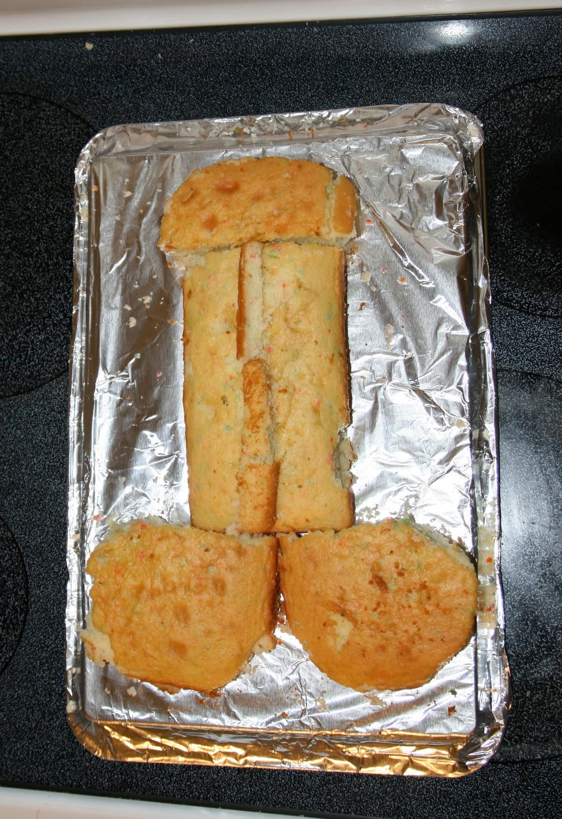 how to make a dick cake