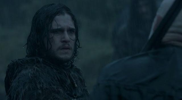 Jon con el anciano - Juego de Tronos en los siete reinos