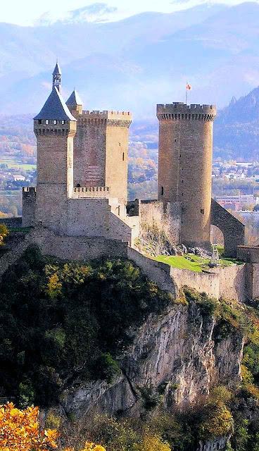 Castelo dos condes de Foix, nos Pirineus franceses