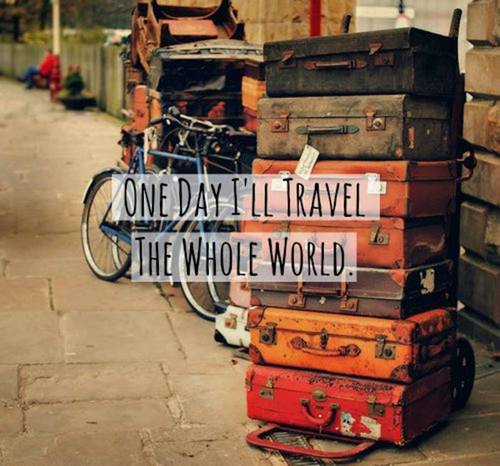 WHY TRAVEL THE WORLD?