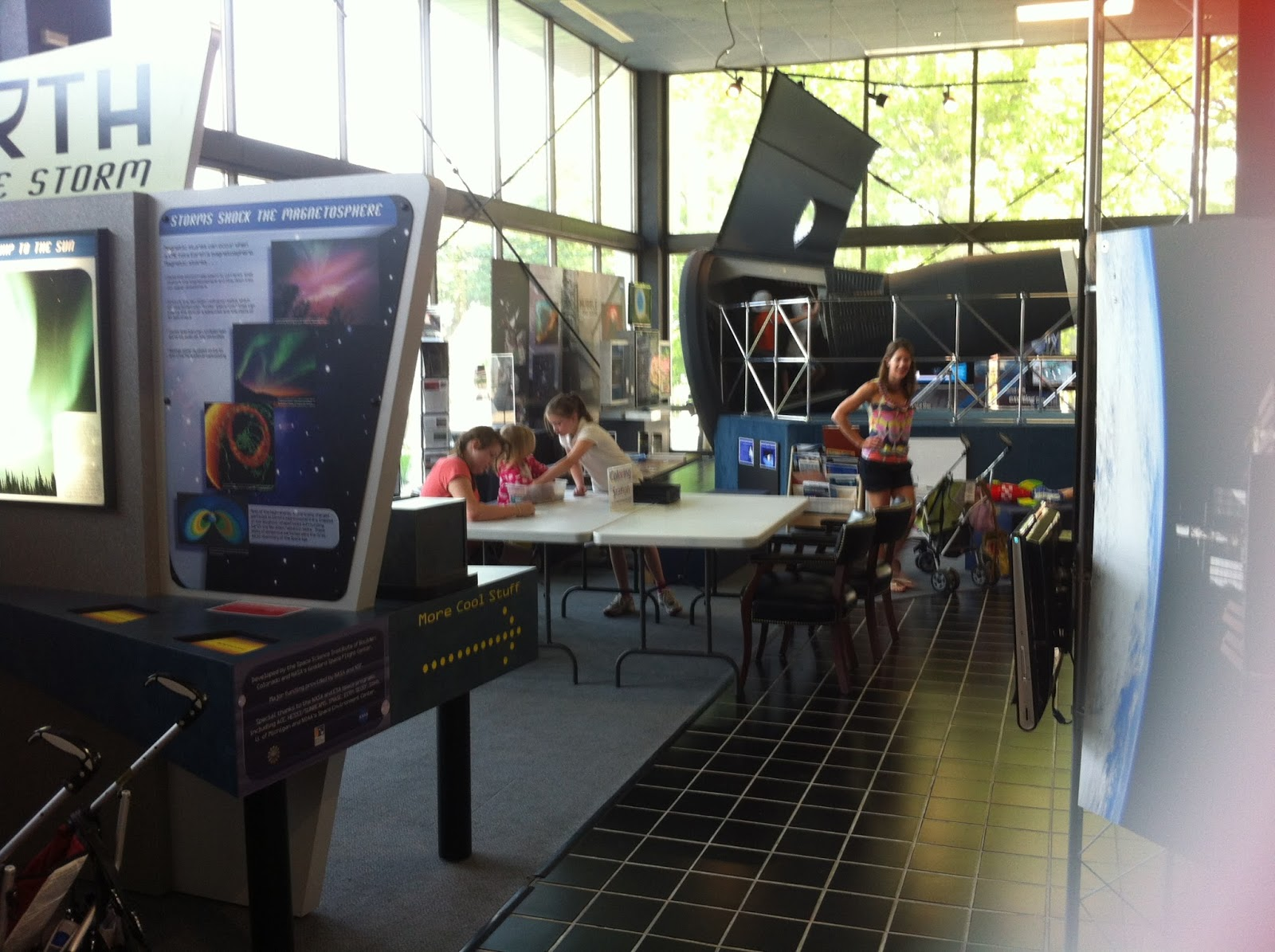 My testimony living sola gratia this past spring we did get to check out nasas visitor center fandeluxe Image collections
