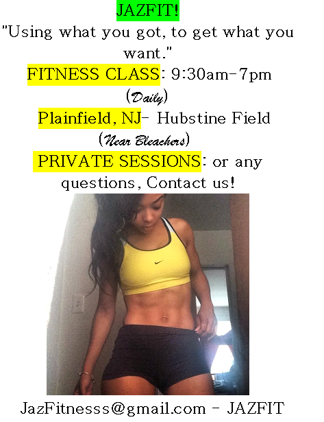 #JAZFIT: JOIN TODAY BY CALLING 832-JAZ-FIT8