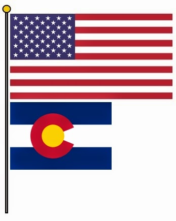 the american flag daily colorado statehood