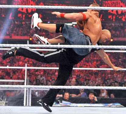 WCC ATTITUDE 2013 The-Rock-Bottom-Dwayne-Johnson-Cena-Wrestlemania-28
