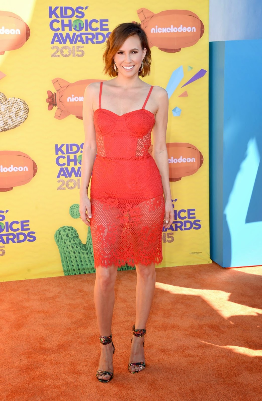 TV Presenter @ Keltie Knight At 2015 Nickelodeon Kids Choice Awards In Inglewood