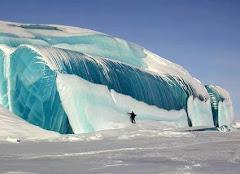 """تجمد موجة في """" أنتاركتيكا """""""
