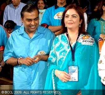 Nitesh Ambani Bollywood Celebrity Clothing in IPL 2014