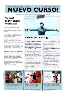 nuevas clases de yoga y pilates en Madrid