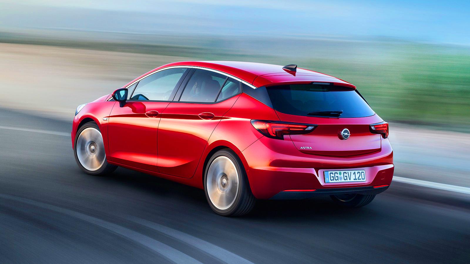 VAZOU Novo Opel Astra 2016 95 cv-200 cv | CARWP