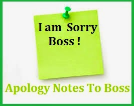 Sample Sorry Messages For Boss/Sample Sorry NotesTo Boss/ Sorry Note For  Boss/Apology NotesTo Boss
