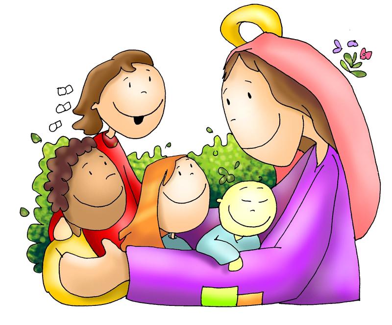 Imagenes De Jesus Y Maria Para Ninos