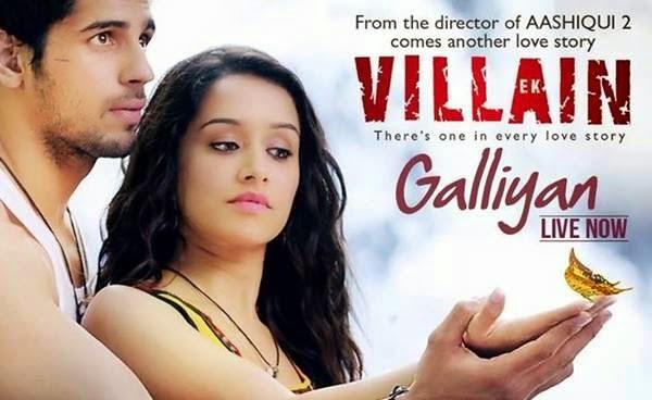 Galliyan Song Lyrics ek villian sidharth malhotra