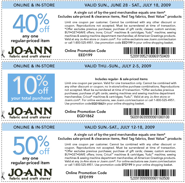 Joanns com coupons