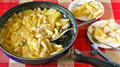 How to make easy no bake macaroni gratin one pot frying pan dish macaroni gratin is a very popular home cooked dish in japan what is good about making it at home is you can make it healthier 3 forumfinder Gallery