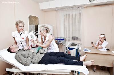 blonde nurses