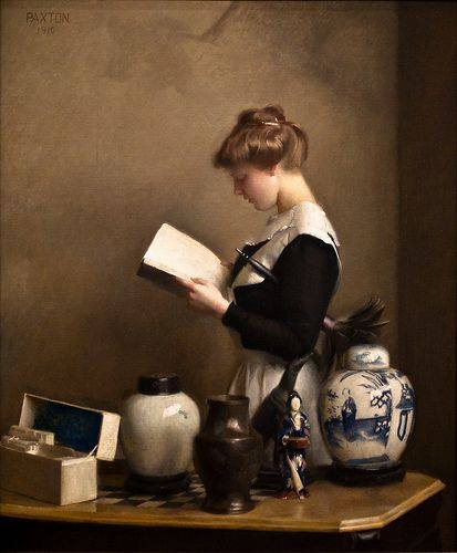 William MacGregor Paxton. El Ama de Casa, 1910