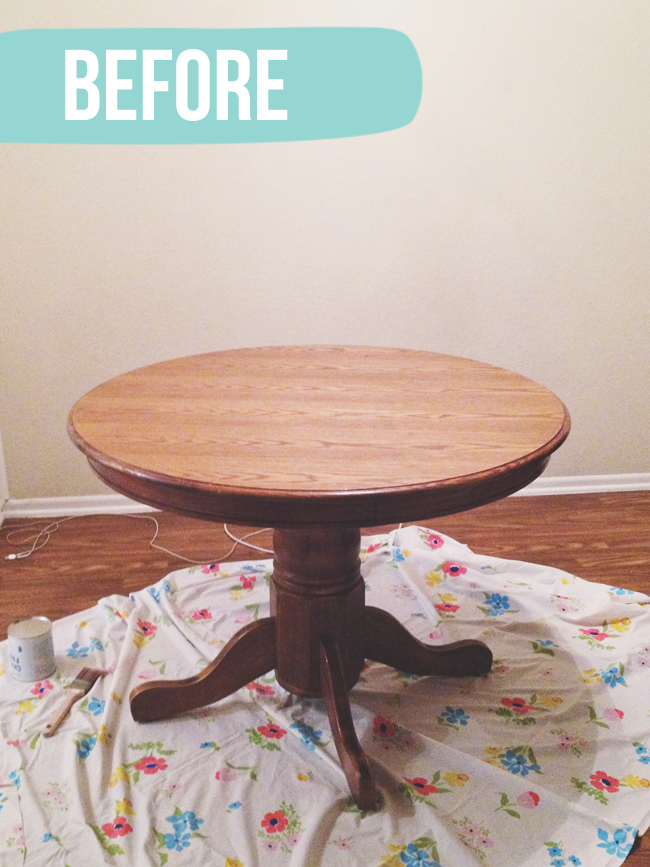 Dining table chairs makeover with annie sloan chalk paint for Painted round dining table and chairs