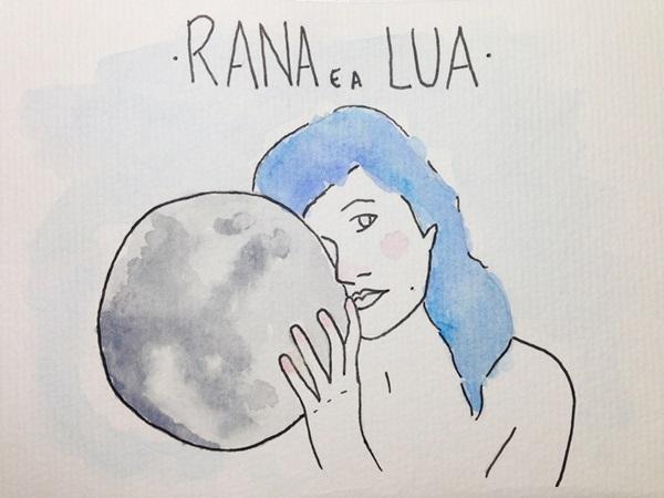Rana e a Lua