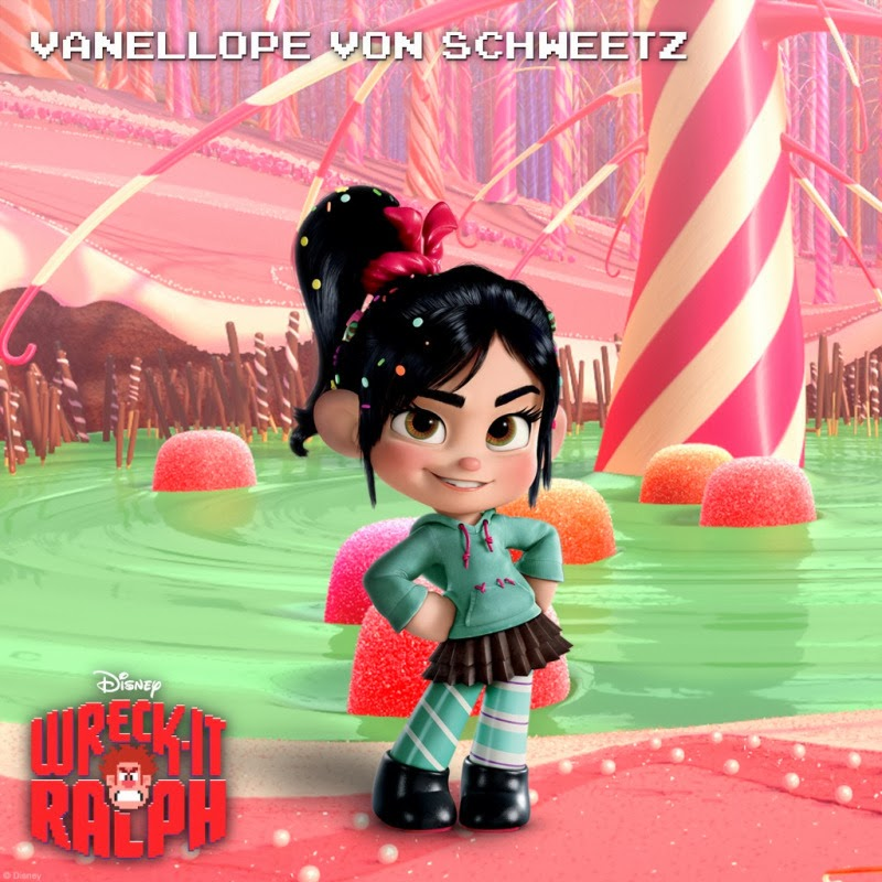 be the change: You Loo... Vanellope Von Schweetz Sugar Rush