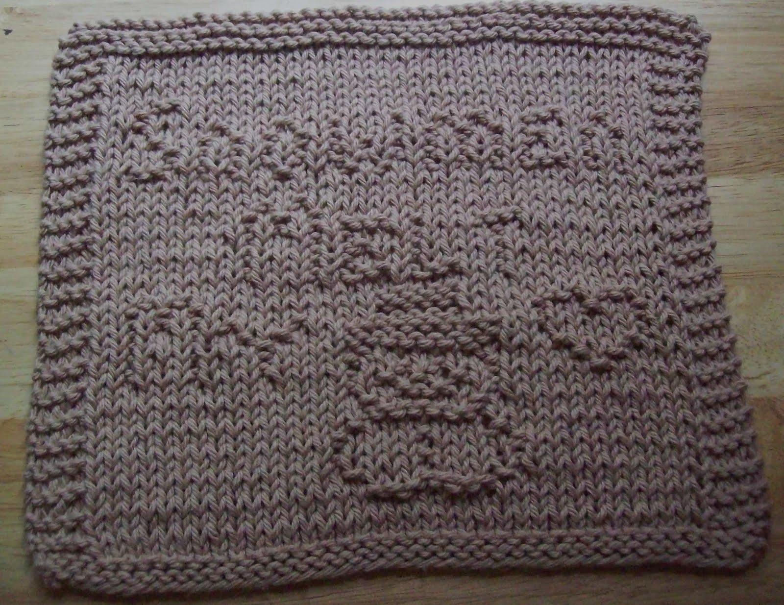 Free Knitted Dishcloth Patterns Snowman : DigKnitty Designs: Snowmen Melt My Heart Knit Dishcloth Pattern
