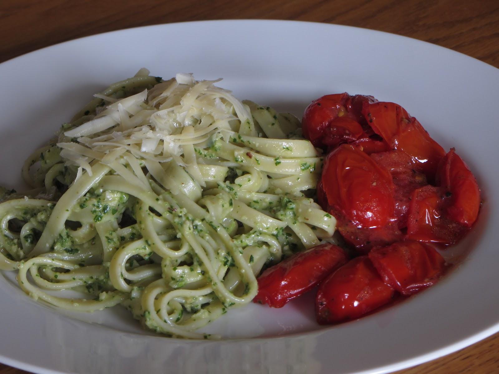Tracy's Living Cookbook: Arugula Pesto