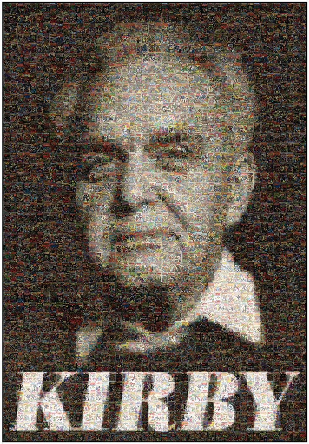 Jack Kirby compostire portrait
