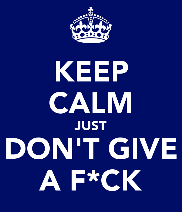How to Stop Giving a F*ck What People Think