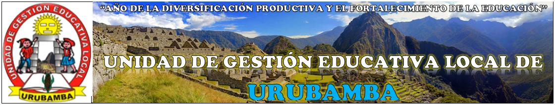:::UGEL-URUBAMBA:::