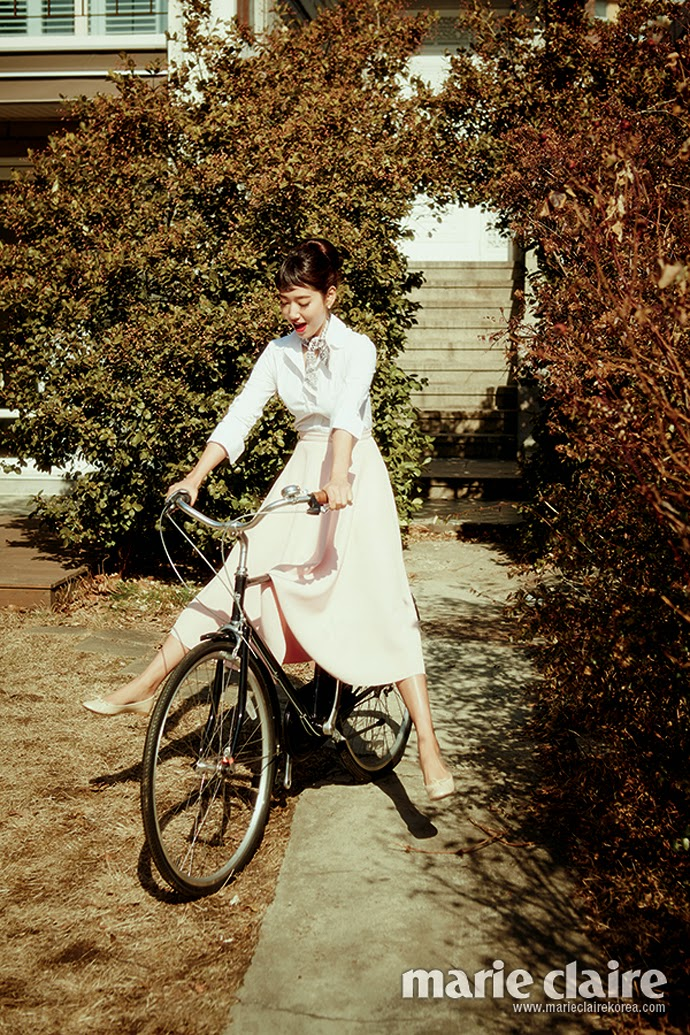 Park Shin Hye - Marie Claire Magazine March Issue 2014