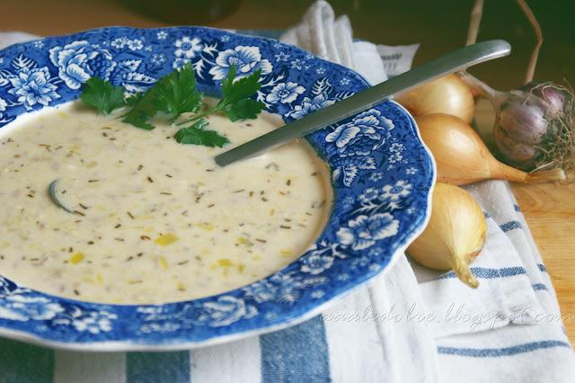 zupa z porów aaaledobre.blogspot.com