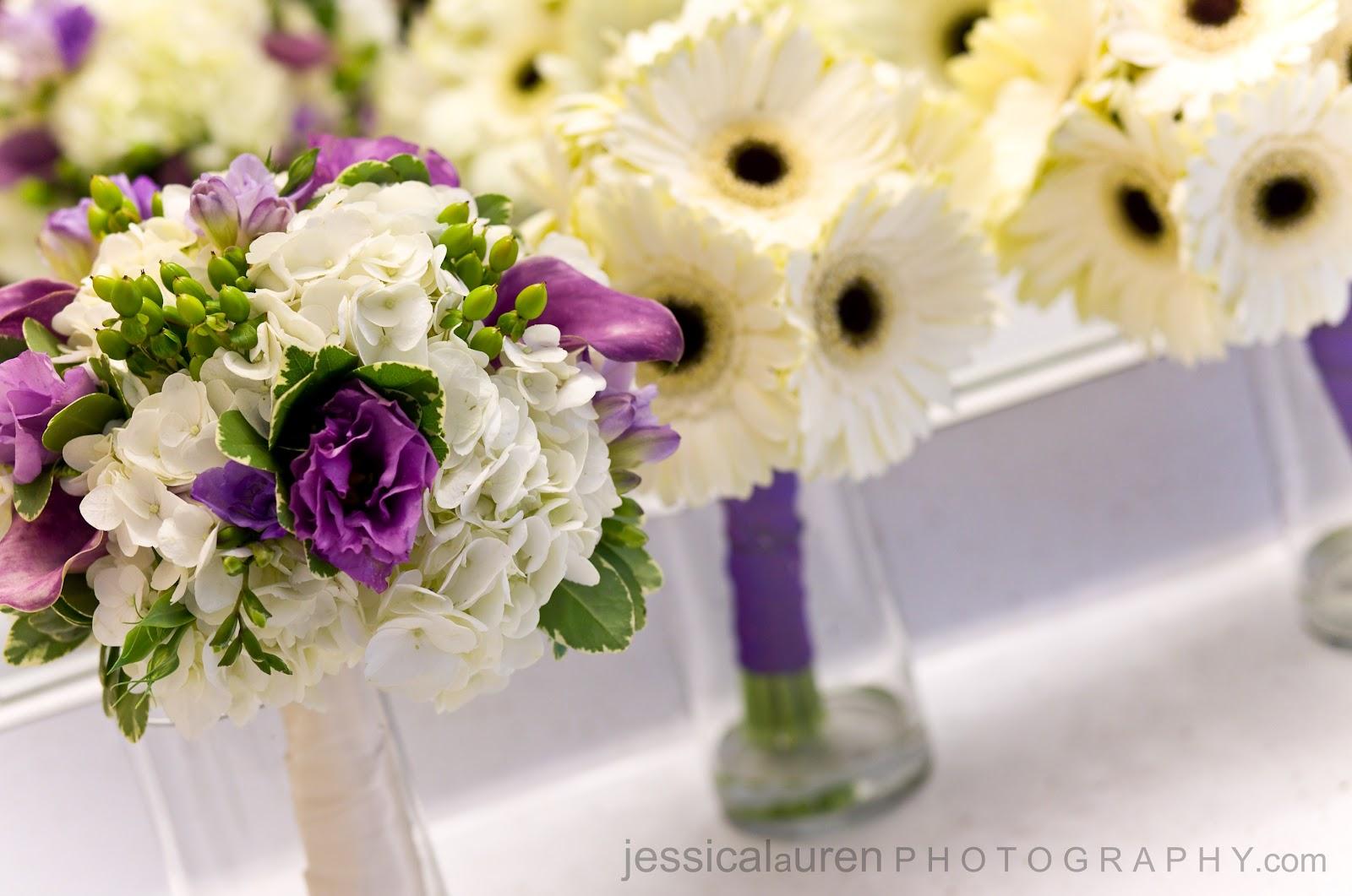 Purple wedding flowers pluster boyle wedding