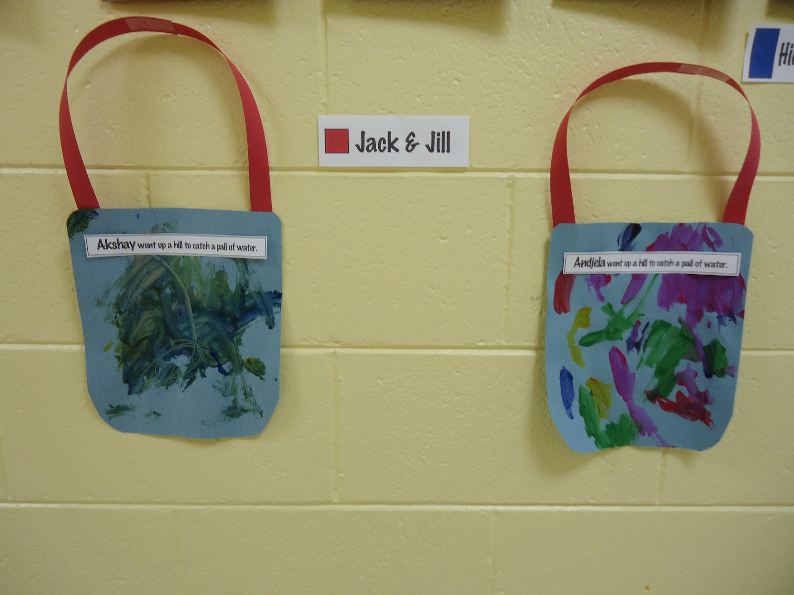 Jack And Jill Paper Plate Craft