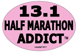 Half Marathon Addict PINK