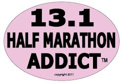 Half Marathon Addict PINK