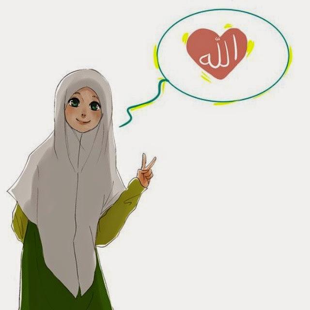 Kumpulan DP BBM Gambar Muslimah Berhijab Syar\u002639;i ~ Keindahan