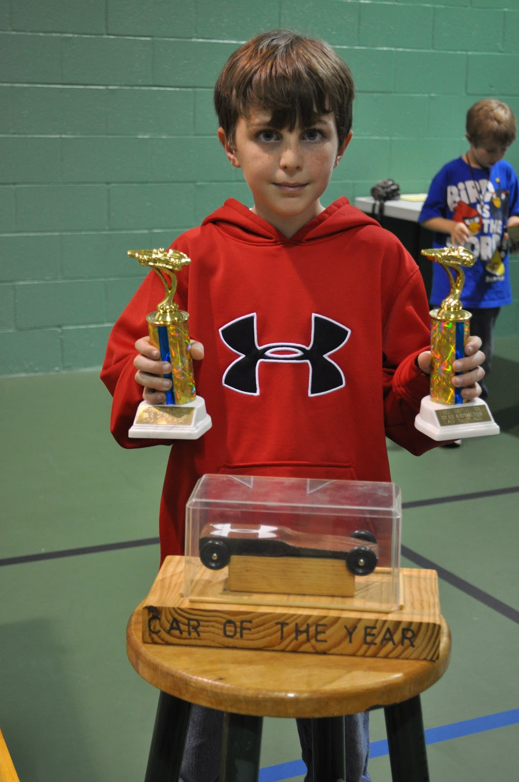 Cheri s chatter pinewood derby and the winner