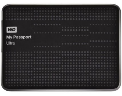 WD My Passport Ultra 1 TB External Hard Drive