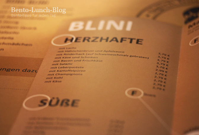 bento lunch blog: blinmaster: erstes russisches blini-café hamburg ... - Russische Küche Hamburg