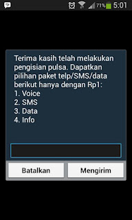 Bonus Tambahan Voice Sms Data di Setiap Pengisian Pulsa Simpati Loop Hermanbagus