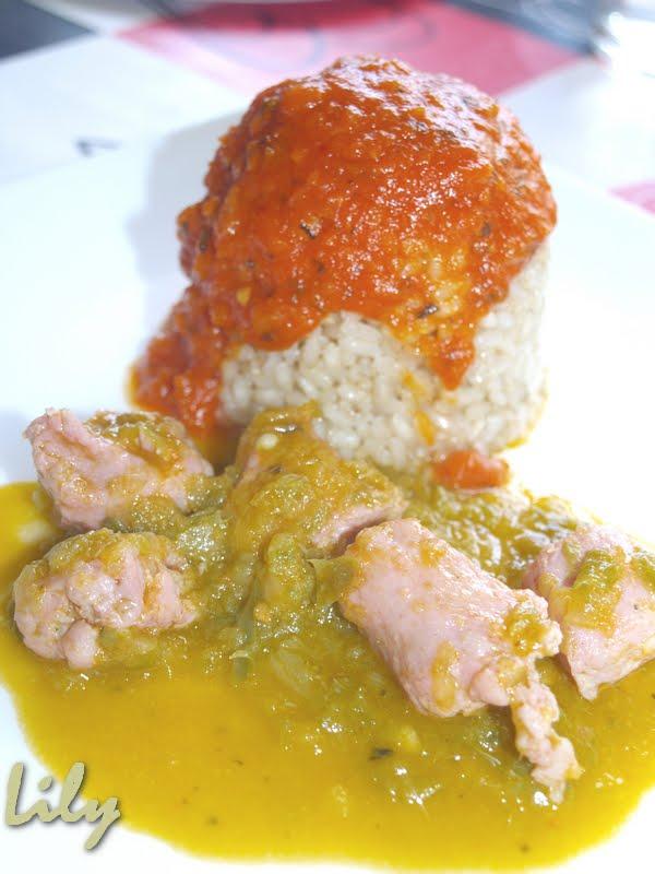 Delici s mos salchichas frescas de pollo en salsa de - Salchichas frescas en salsa ...